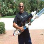 Hi-Power T-Shirt Launcher!