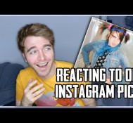 REACTING TO OLD INSTAGRAM PICS!