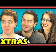 YouTubers React to Don't Hug Me I'm Scared 2 – TIME (EXTRAS #48)