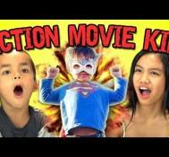 Kids React to Action Movie Kid