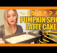 How to make a Pumpkin Spice Latte Cake!