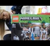 LEGO Minecraft – The Mine timelapse