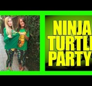 Ninja Turtle Birthday Party!