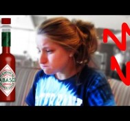 BRE DOES TABASCO CHALLENGE!