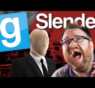 GMod Slender #1 Look Behind You