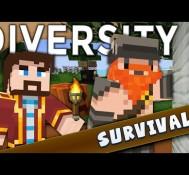 Minecraft – Diversity 2 – Doing It Dwarf Style (Survival)