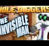 Minecraft – The Invisible Man – Hole Diggers 59