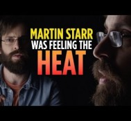 Martin Starr Was Feeling The Heat