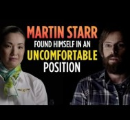 Martin Starr Found Himself In An Uncomfortable Position