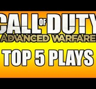 ADVANCED WARFARE TOP 5 PLAYS INBOUND!